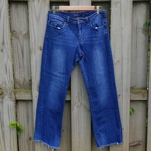American Eagle Easy Rider Ankle Jeans with…